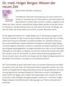 Rezension Wissen der neuen Zeit - Reiki Magazin